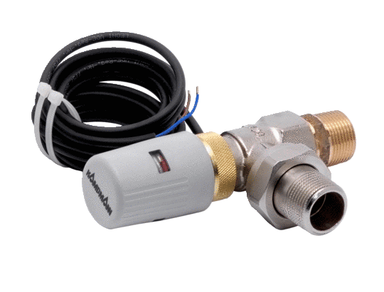 Thermoelectric shut-off valve