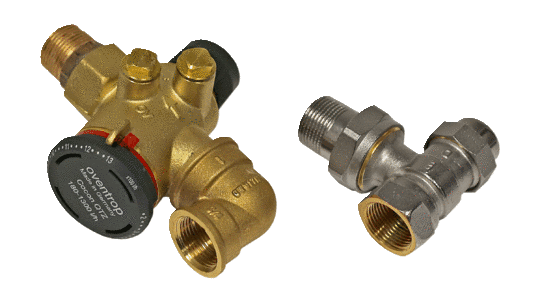 """Differential pressureindependent valve kit"""