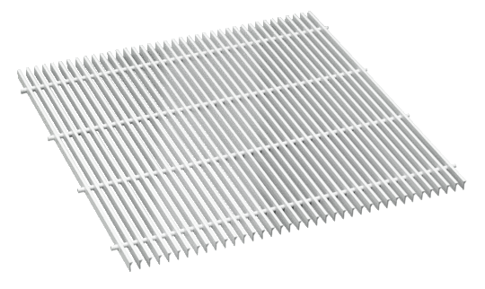 Recirculating air grille