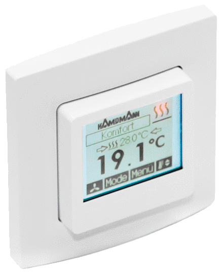 Clock thermostat